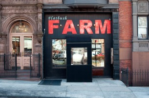 The restaurant Flatbush Farm now occupies the bookstore's old space.